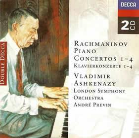 1995 Rachmaninov Piano Concertos 1 al 4