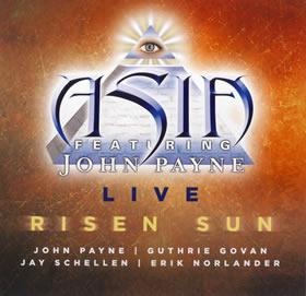 2012 Feat. John Payne – Live Risen Sun