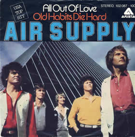 1980 All Out Of Love – CDS