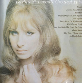 1970 Barbra Streisand's Greatest Hits