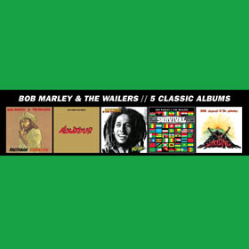 2013 & The Wailers – 5 Classic Album