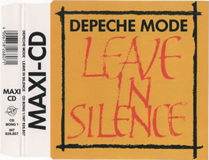 1982 Leave In Silence – CDS