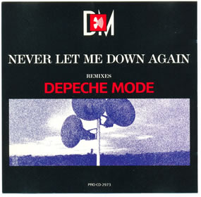 1987 Never Let Me Down Again – CDS