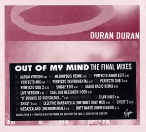 2004 Out Of My Mind – The Final Mixes