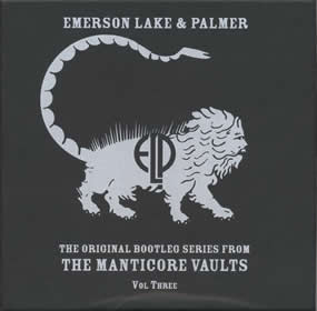 2002 The Original Bootleg Series from The Manticore Vaults Volume 3
