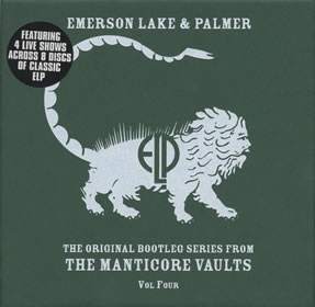 2002 The Original Bootleg Series from The Manticore Vaults Volume 4