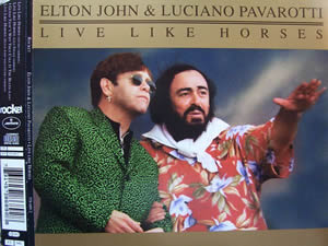 1996 & Luciano Pavarotti – Live Like Horses – CDS
