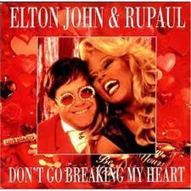 1993 & Rupaul – Don't Go Breaking My Heart – CDS