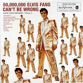 1959 50000000 Elvis Fans Can´t Be Wrong Golden Records V. 2