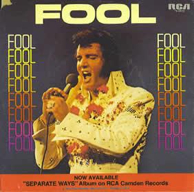 1973 Elvis Fool