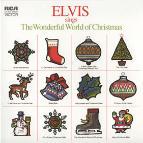 1971 Elvis Sings The Wonderful World Of Christmas