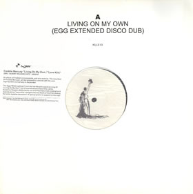 1985 Living On My Own – CDS