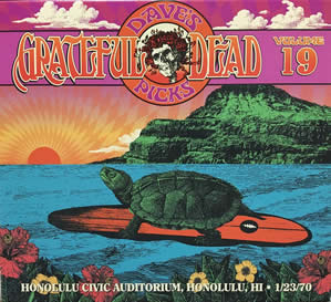 2016 Dave's Picks Vol.19: 1970-01-23 Honolulu Civic Auditorium Honolulu HI