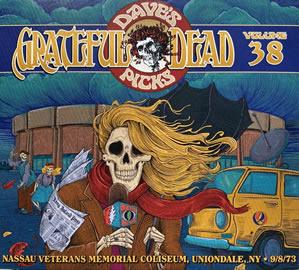 2021 Dave's Picks Vol. 38: Nassau Coliseum Uniondale NYC 9/08/73