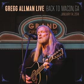 2015 Gregg Allman Live: Back To Macon GA 14-January-2014
