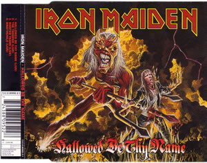 1993 Hallowed Be Thy Name – Live – CDS