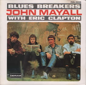 1966 Blues Breakers With Eric Clapton