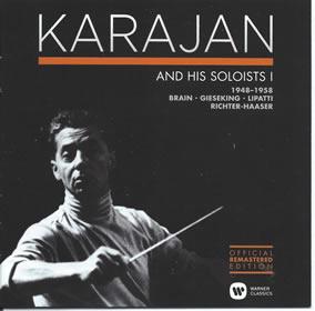 2014 Karajan And His Soloists 1 – Concerto Recordings 1948-1958: Box Set