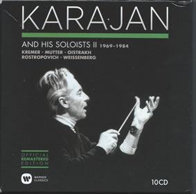 2014 Karajan And His Soloists 2 – Concerto Recordings 1969-1984: Box Set