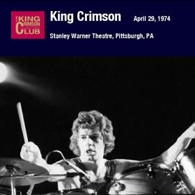 2009 Stanley Warner Theatre Pittsburgh Pennsylvania – April 29 1974