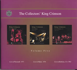 2001 The Collectors' King Crimson Volume Five