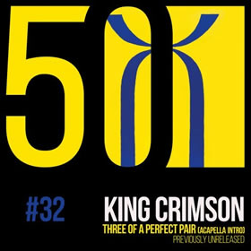 2019 Three of a Perfect Pair (KC50 Vol. 32) (Acapella Intro) – CDS