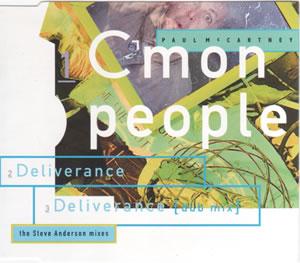 1993 C'mon People – CDS