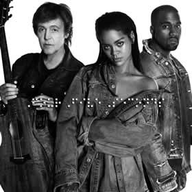 2014 & Rihanna And Kanye West – FourFiveSeconds – CDS