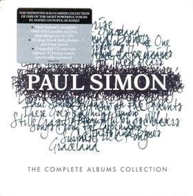 2013 Paul Simon Complete Albums