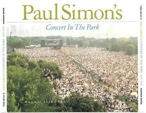 1991 Paul Simon's Concert In The Park