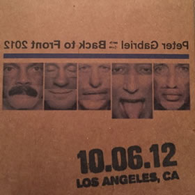 2012 Back To Front – 10.06.12 Los Angeles CA