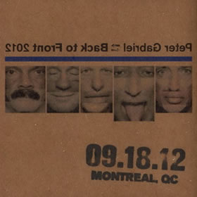 2012 Back To Front – 18.09.12 Montreal