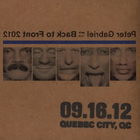 2012 Back To Front – 16.09.12 Quebec City