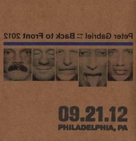 2012 Back To Front – 09.21.12 Philadelphia PA
