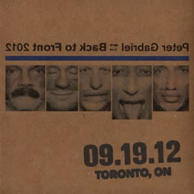 2012 Back To Front – 19.09.12 Toronto