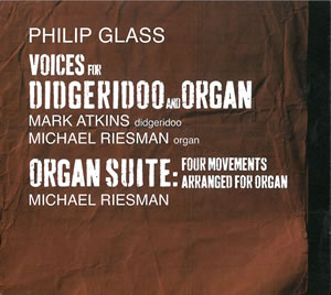 2013 Voices for Didgeridoo and Organ