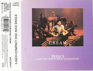 1991 & The New Power Generation – Cream – CDS