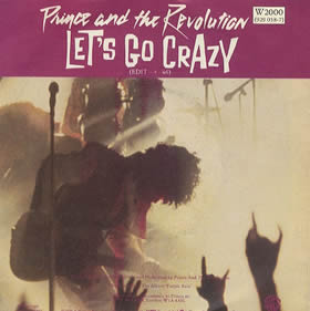 1984 Let's Go Crazy – CDS