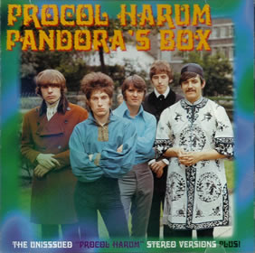 1999 Pandora's Box {The Unissued Procol Harum Stereo Versions Plus!}
