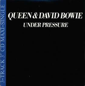 1981 & David Bowie – Under Pressure – CDS