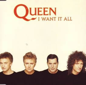 1989 I Want It All – CDS