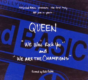 1991 We Will Rock You – We Are The Champions (Remixes) – CDM
