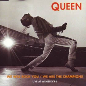 1991 We Will Rock You – We Are The Champions – CDS