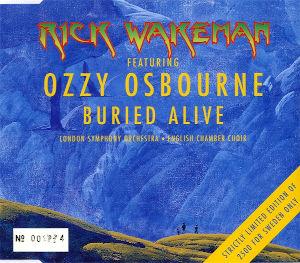 1999 & Ozzy Osbourne – Buried Alive – CDS