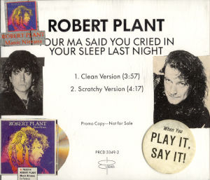 1990 Your Ma Said You Cried In Your Sleep Last Night – CDS