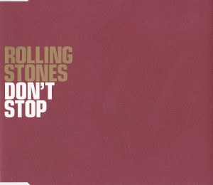 2002 Don't Stop – CDS