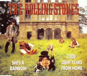 1990 She's A Rainbow – CDS